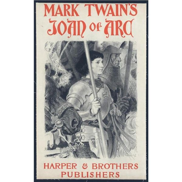 Harpers & Brothers Publishers - Mark Twain's Joan of Arc