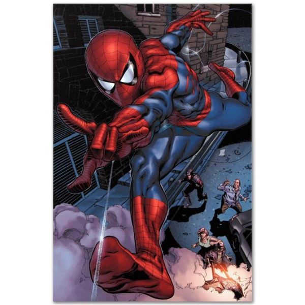 """Marvel Comics """"Heroes For Hire #6"""" Numbered Limited Edition Giclee on Canvas by"""