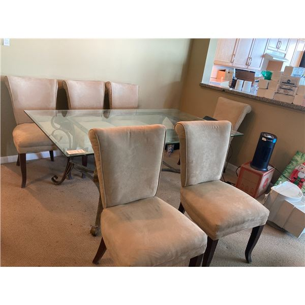 6 dining chairs C