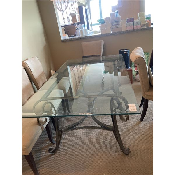 Glass Dining Table C