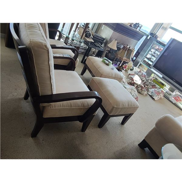 Chair and Ottoman C