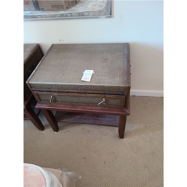 End Table and Decoratice Drawer B