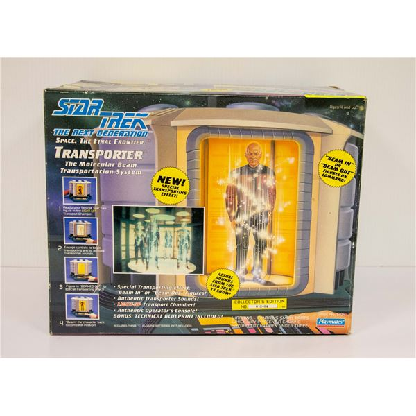 STAR TREK NEXT GENERATION TRANSPORTER IN BOX