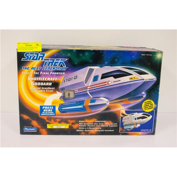STAR TREK NEXT GENERATION SHUTTLECRAFT IN BOX