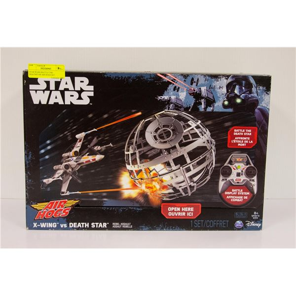 STAR WARS BATTLE THE DEATHSTAR AIR HOGS SET