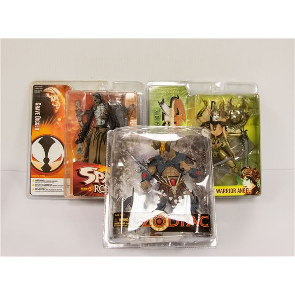 FLAT OF COLLECTIBLE SPAWN FIGURES