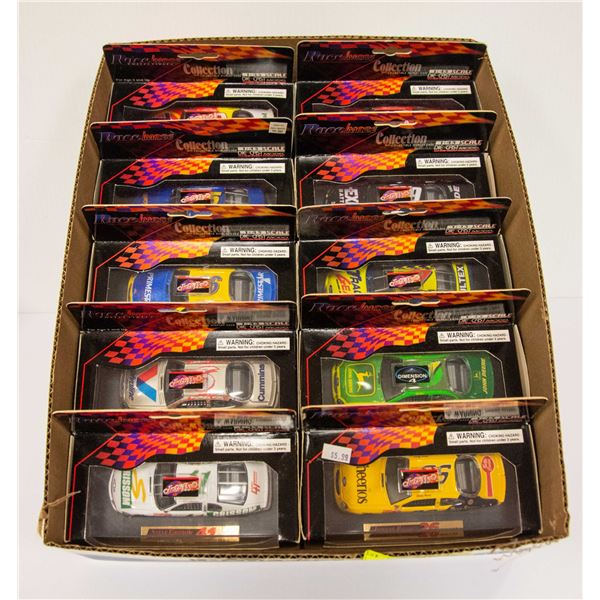RACE IMAGES COLLECTION DIECAST CARS LOT