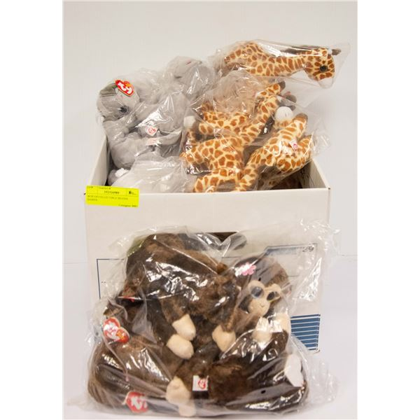 BOX OFCOLLECTIBLE BEANIE BABIES
