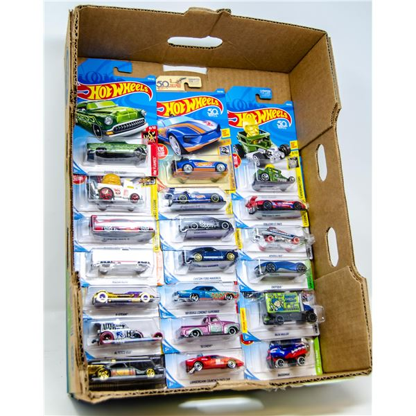 HOT WHEELS DIECAST LOT SEALED