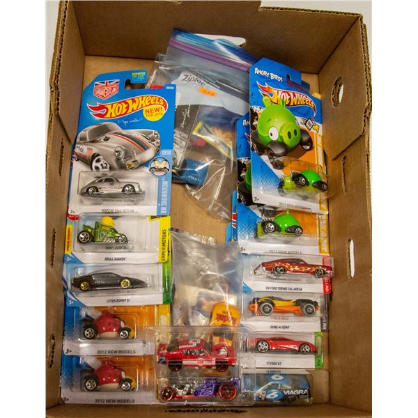 FLAT OF MIXED COLLECTIBLE HOT WHEELS