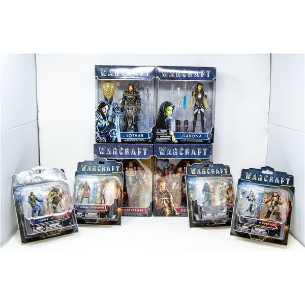WARCRAFT ACTION FIGURES LOT