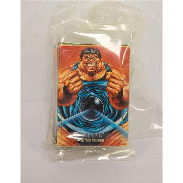 1992 MARVEL MASTERPIECE CARD SET