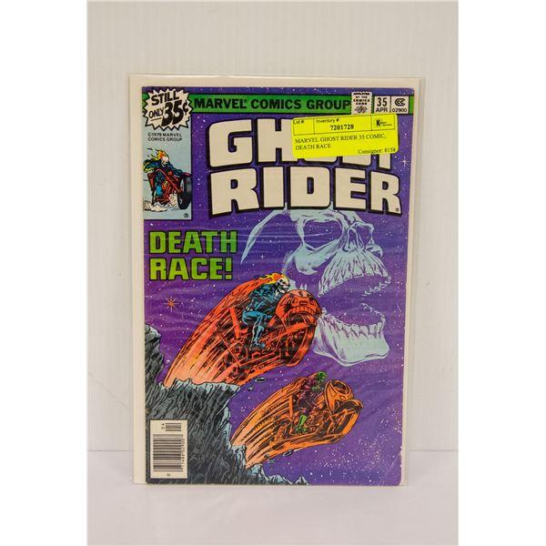 MARVEL GHOST RIDER 35 COMIC, DEATH RACE