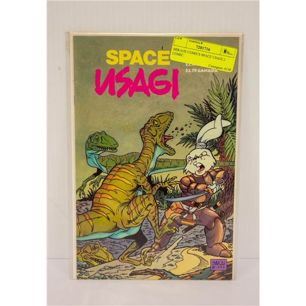 MIRAGE COMICS SPACE USAGI 2 COMIC