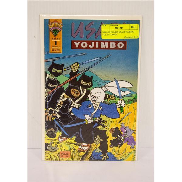 MIRAGE COMICS USAGI YOJIMBO VOL.2 #1 COMIC