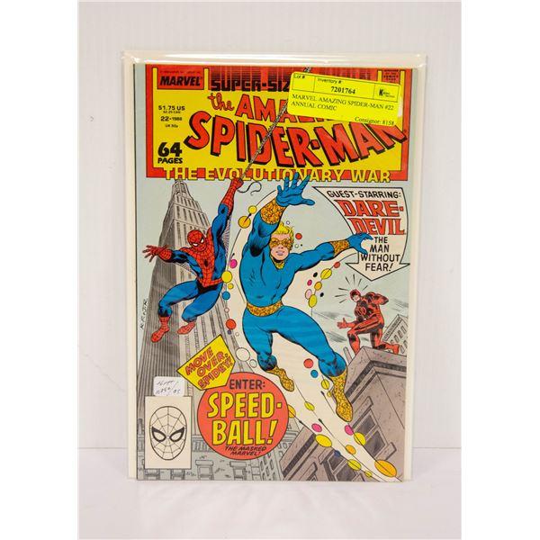 MARVEL AMAZING SPIDER-MAN #22 ANNUAL COMIC