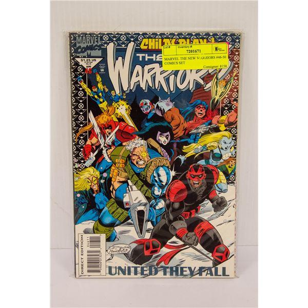 MARVEL THE NEW WARRIORS #46-50 COMICS SET
