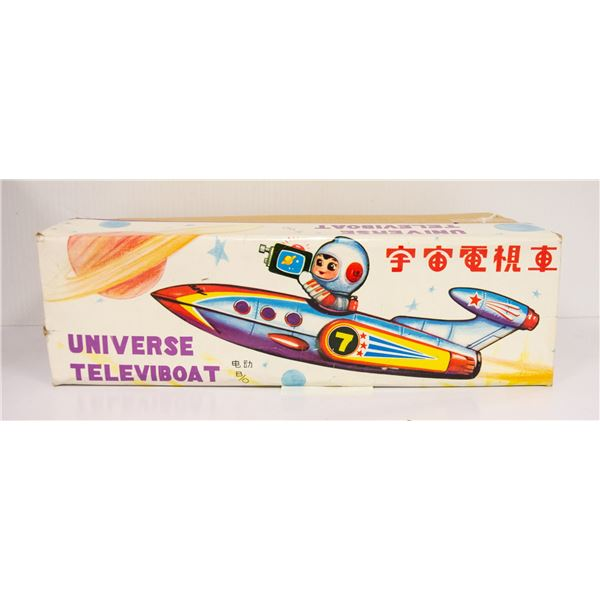 VINTAGE UNIVERSE TELEVIBOAT IN BOX