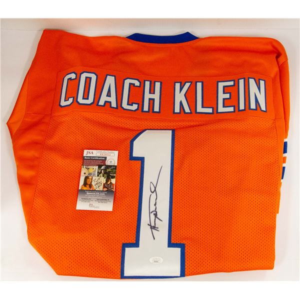 SIGNED COACH KLEIN COLLECTIBLE JERSEY WATERBOY