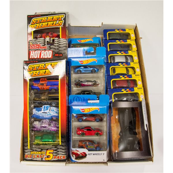FLAT OF DIECAST COLLECTIBLE CARS