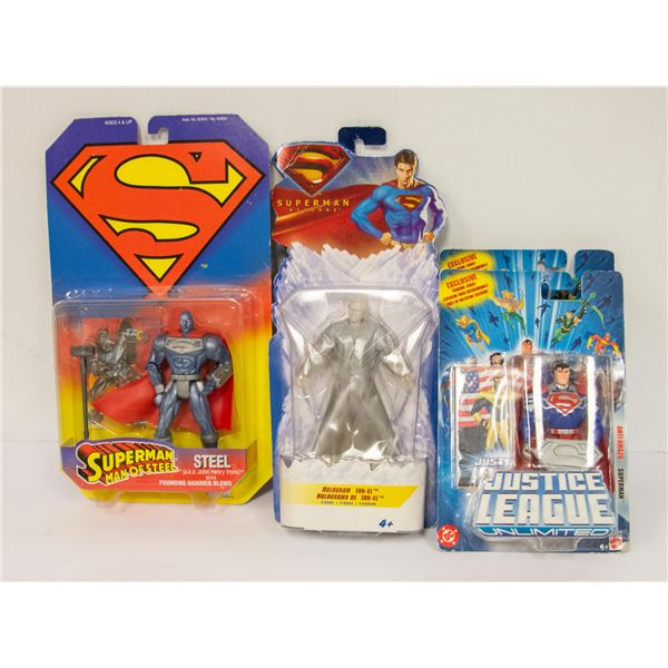 FLAT OF DC SUPERHEROES LOT