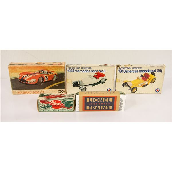 FLAT OF COLLECTIBLE CARS LOT