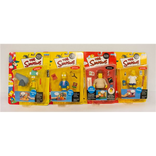 MIXED COLLECTIBLE SIMPSONS FIGURE LOT