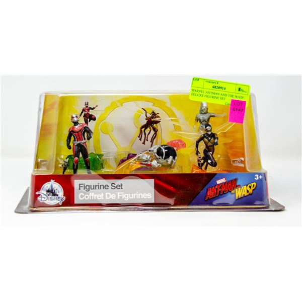 MARVEL ANTMAN AND THE WASP DELUXE FIGURINE SET