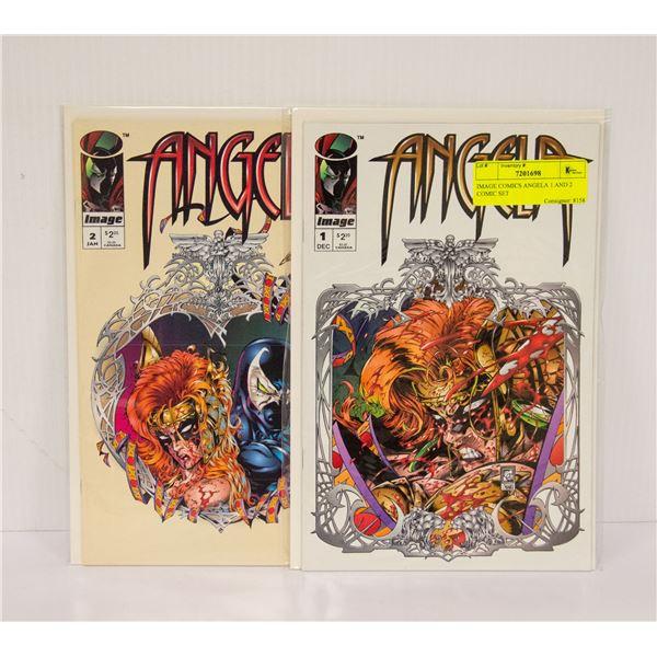 IMAGE COMICS ANGELA 1 AND 2 COMIC SET