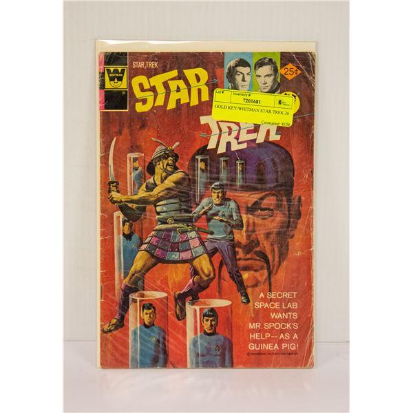 GOLD KEY/WHITMAN STAR TREK 26