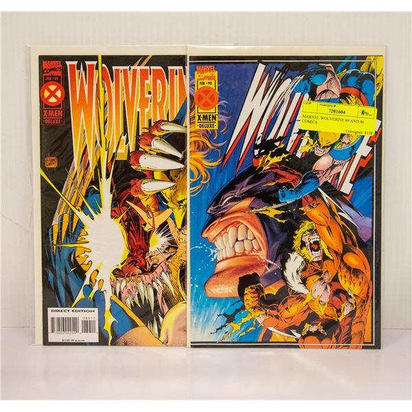 MARVEL WOLVERINE 89 AND 90 COMICS
