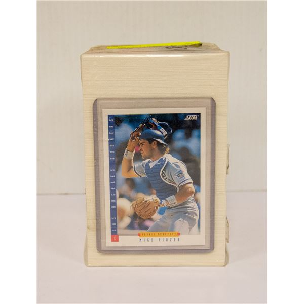 1993 SCORE BASEBALL CARD SET 1-660