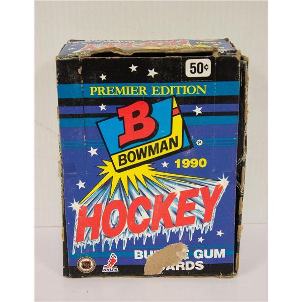 SEALED BOX 1990 BOWMAN 36 PACKS