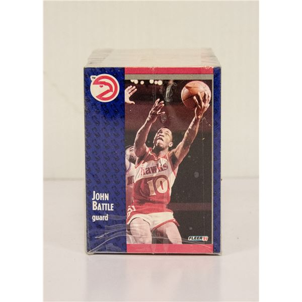 1991 FLEER BASKETBALL SET 1-240 NBA