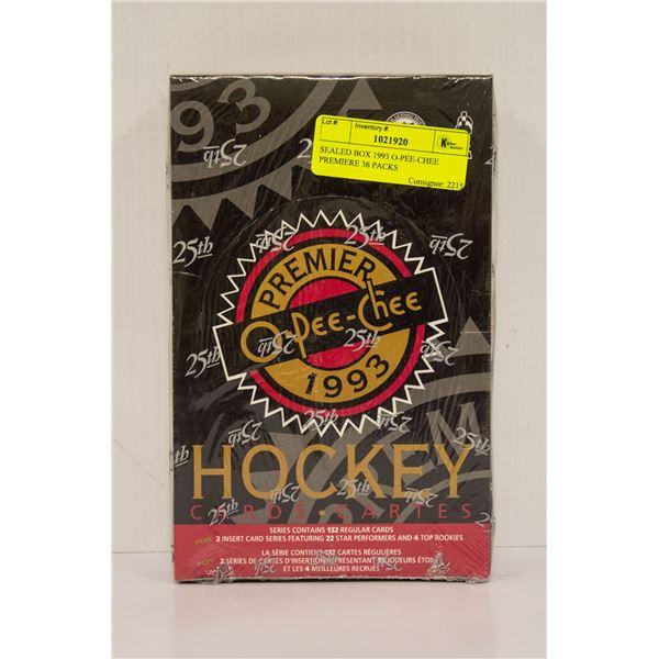 SEALED BOX 1993 O-PEE-CHEE PREMIERE 36 PACKS