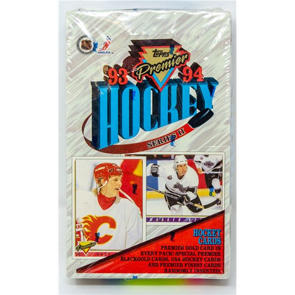 93-94 TOPPS PREMIERE GOLD INSERTS 36 PACKS