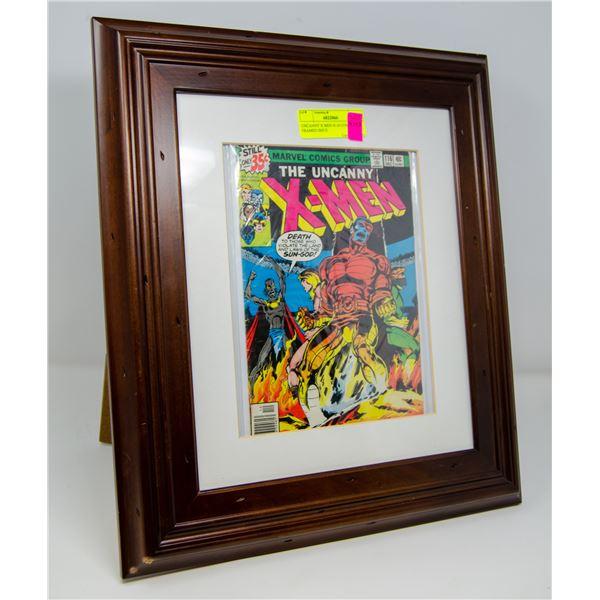 UNCANNY X-MEN #116 COMIC KEY FRAMED ISSUE