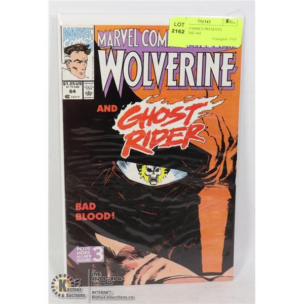 MARVEL COMICS PRESENTS WOLVERINE #64