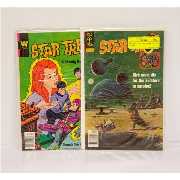 GOLD KEY/WHITMAN STAR TREK 50 AND 60