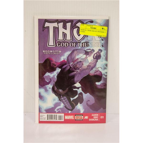 MARVEL THOR GOD OF THUNDER 11 COMIC