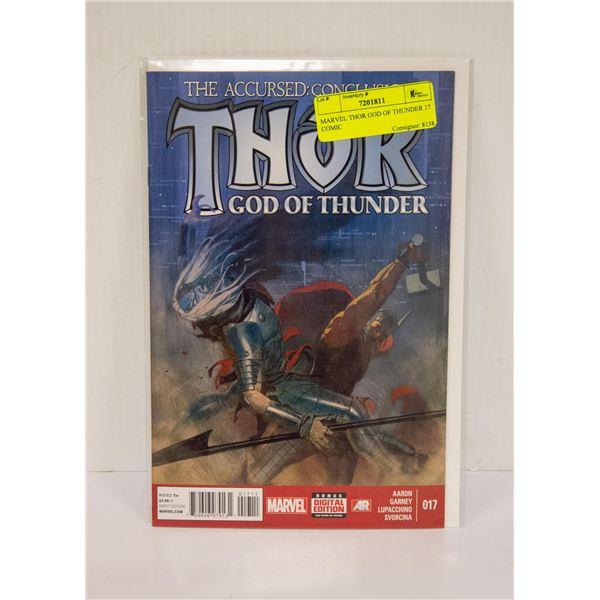 MARVEL THOR GOD OF THUNDER 17 COMIC