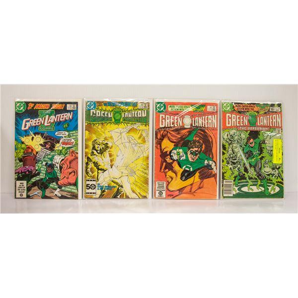 DC COMICS GREEN LANTERN ISSUE 164, 171, 191, 202