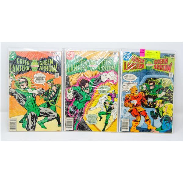 DC COMICS GREEN LANTERN & GREEN ARROW ISSUE