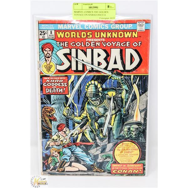 MARVEL COMICS THE GOLDEN VOYAGE ON SINBAD ISSUE 8