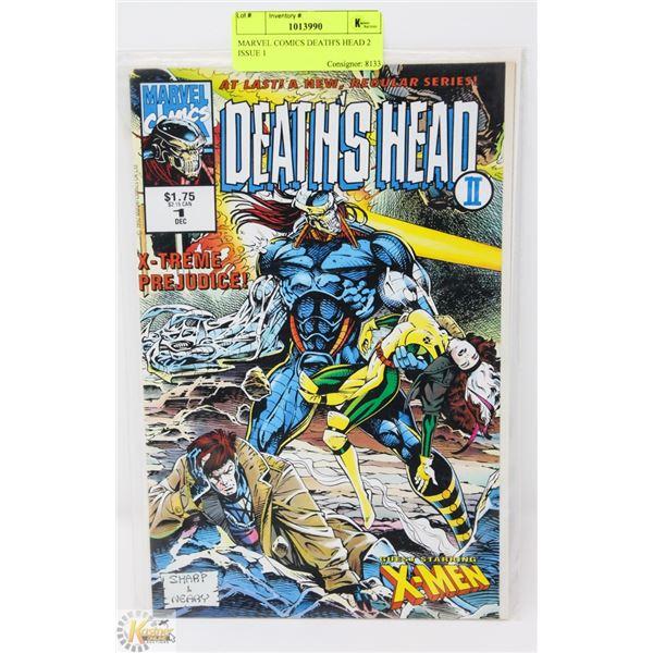 MARVEL COMICS DEATH'S HEAD 2 ISSUE 1