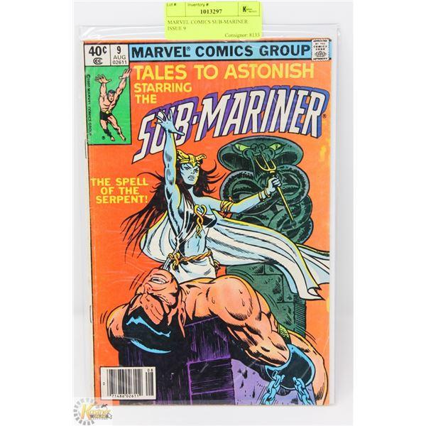 MARVEL COMICS SUB-MARINER ISSUE 9