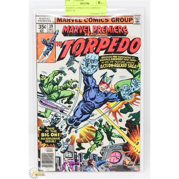 MARVEL COMICS THE TORPEDO ISSUE 39