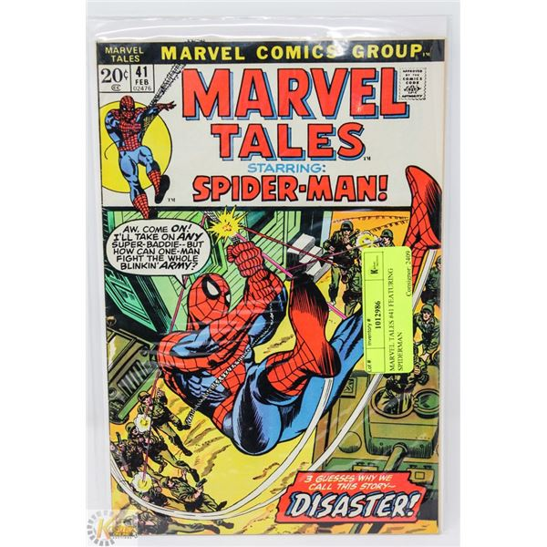 MARVEL TALES #41 FEATURING SPIDERMAN