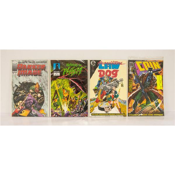 LOT OF 4 ASSORTED COMICS
