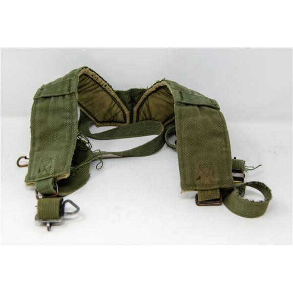 VIETNAM WAR COMBAT WORN US ARMY SHOULDER STRAPS